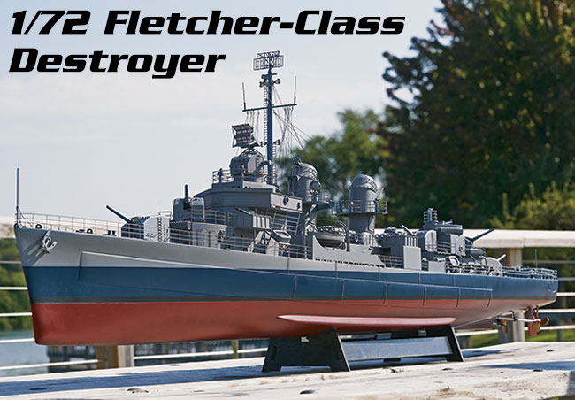 Does anyone own this model 1:72 Aquacraft Fletcher Class